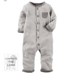 French Terry Coveralls